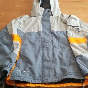 Columbia convert snow jacket